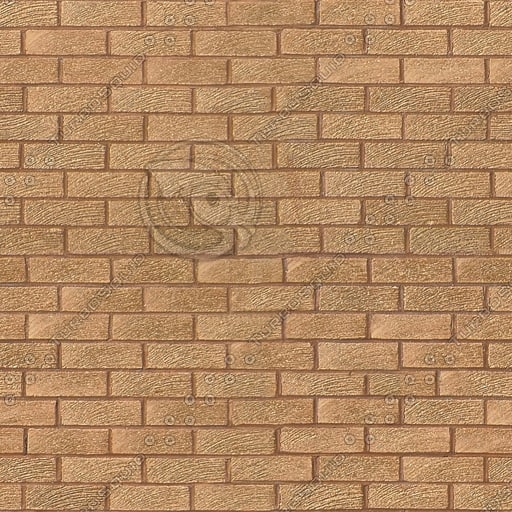 BRK003 brown bricks seamless texture