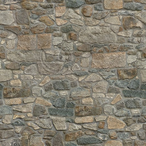 SW018 brown stone wall texture