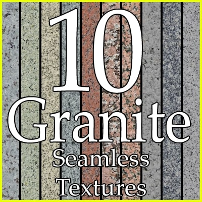 granite stone texture collection