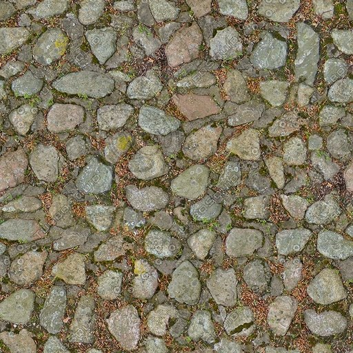 G199 cobbles cobbled road