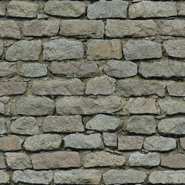 BL163 stone wall masonry blocks