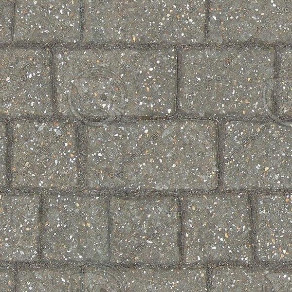 G352 concrete brick paving texture