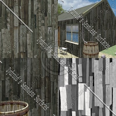 SRF wooden timber wall
