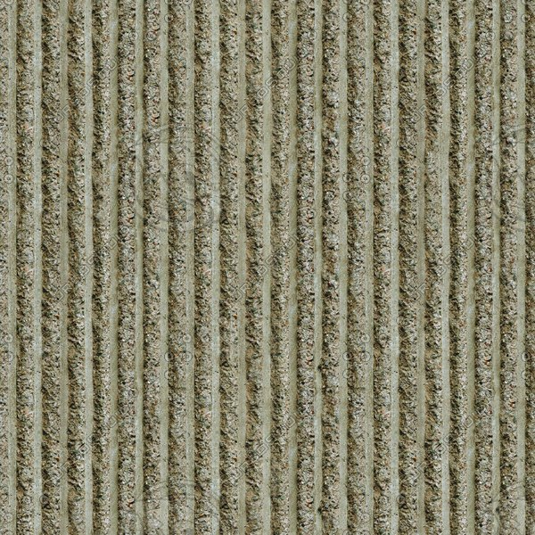 C033 concrete wall corrugated