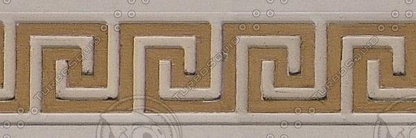 EDG013 wall trim edging texture