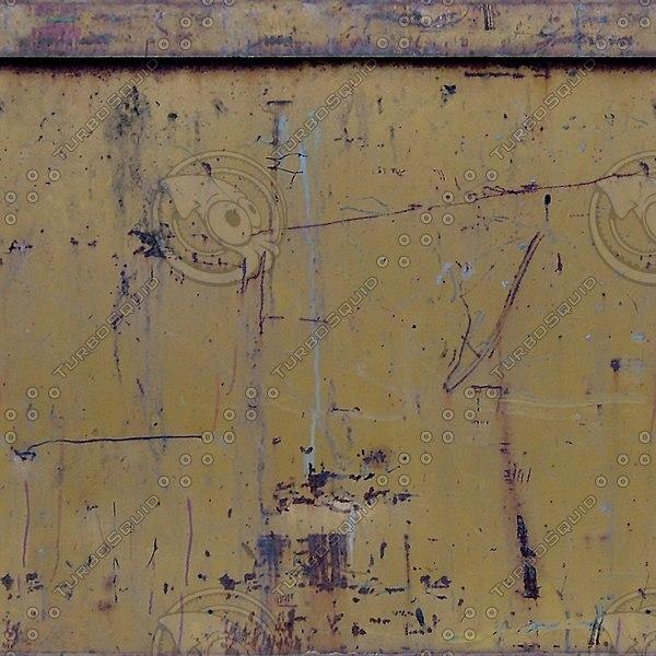 M083 metal box panel texture