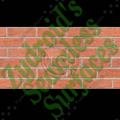 SRF red bricks brick wall high detail texture