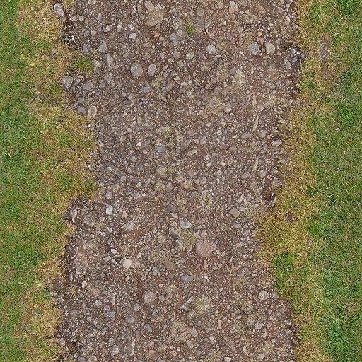 G191 garden path track road texture