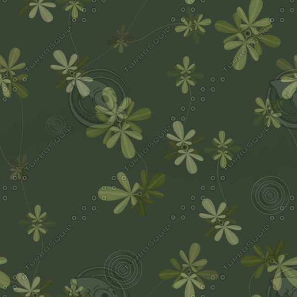 WP017 floral wallpaper texture