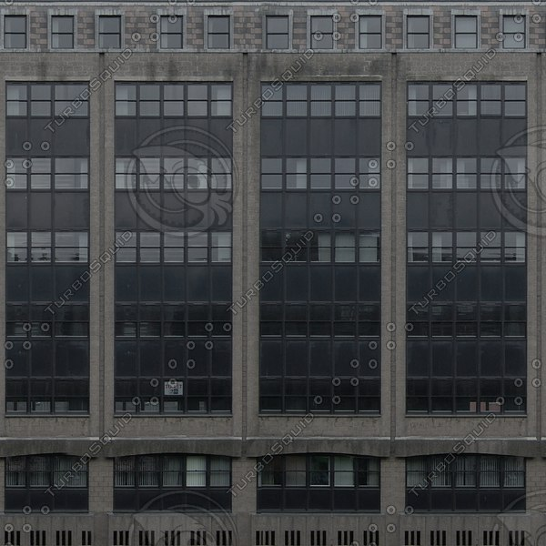 BF105 office building facade texture