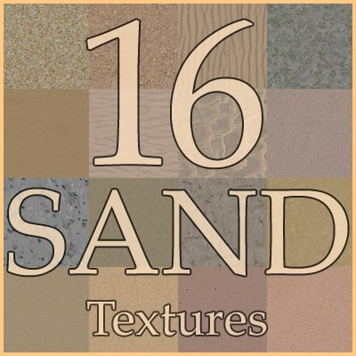 Sand textures collection