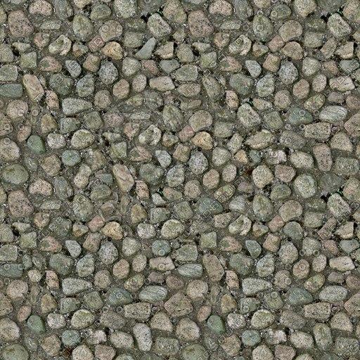G194 cobbled street cobbles