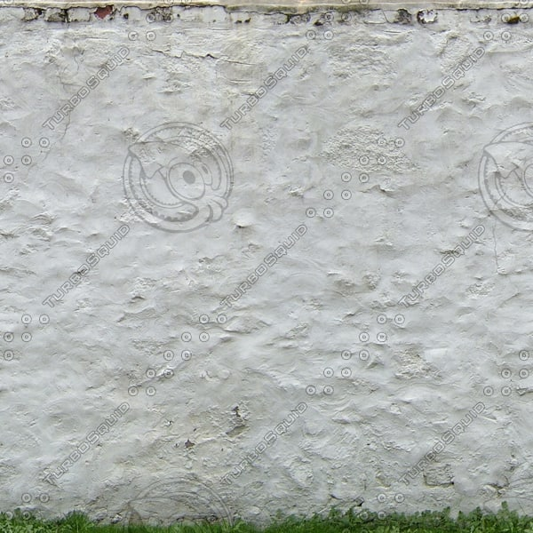 W376 whitewashed stone wall