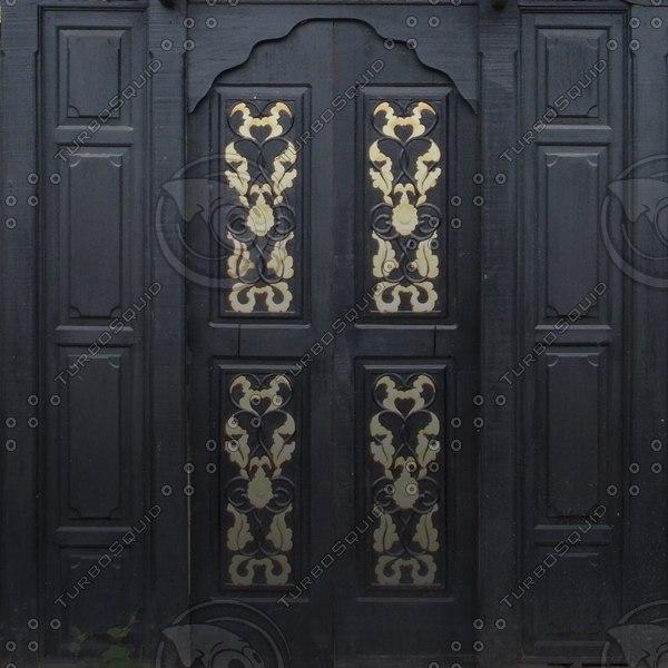 D184 garden gate door