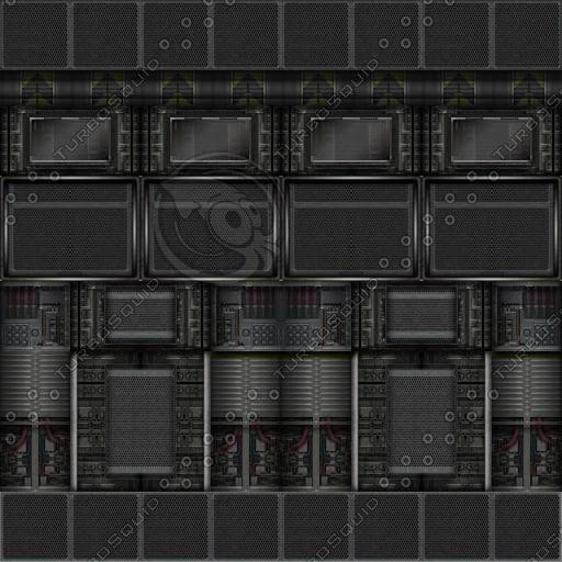 SF039 sci-fi wall texture