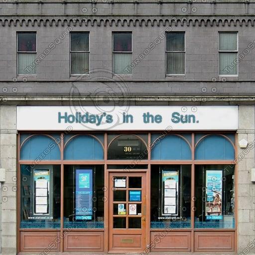 SFNT013 Shop Front facade texture