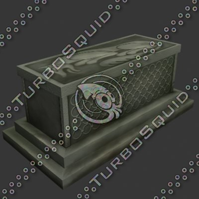 sarcophagus tomb 3d 3ds