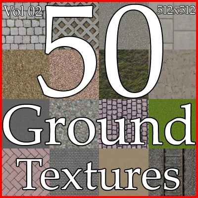 ground texture collection Vol02
