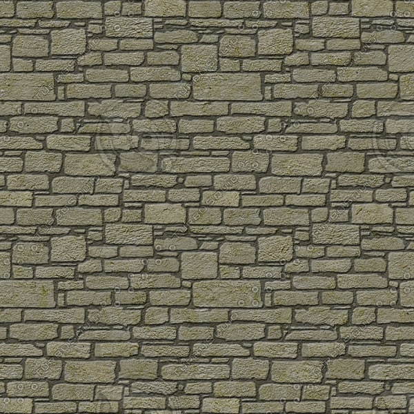 BL040 ashlar wall blocks texture