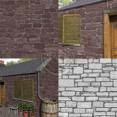 SRF blocks sandstone stone wall