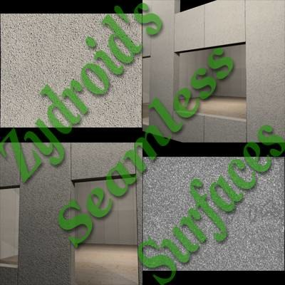 SRF Concrete wall panels bump map