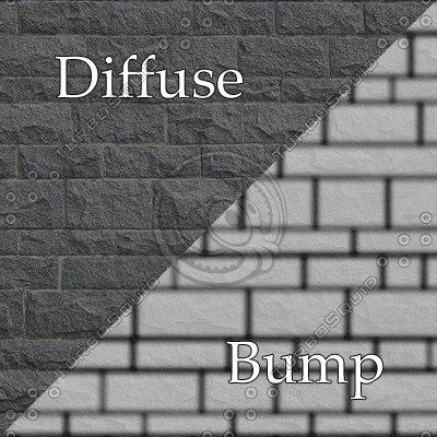 bl011 bumpmap stone wall SRF