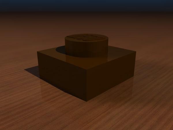 c4d lego brick