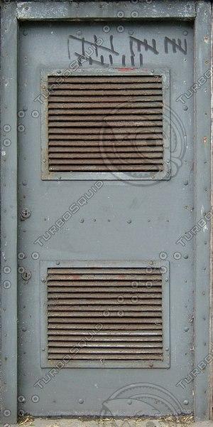 D168 old wooden door