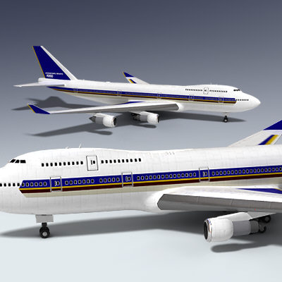 3d 747 airplane - 747 Aircraft... by Adam Walker Film