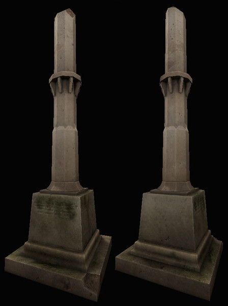 3d model tombstone - Tombstone... by frestial