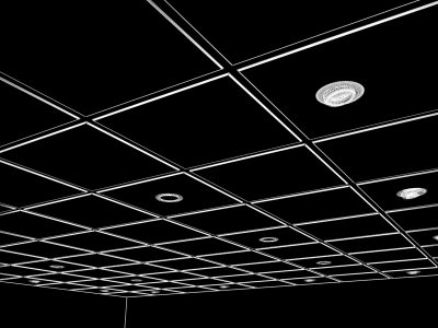 3d model realistic ceiling tiles spot - Ceiling tile and Spot Lights.max... by Chris123643