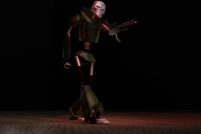dethbot rigged 3d model - DETHBOT... by stefangreencorn
