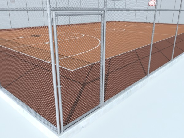 maya outdoor basketball court - basketball_outdoor_court(max7).zip... by monkeyodoom