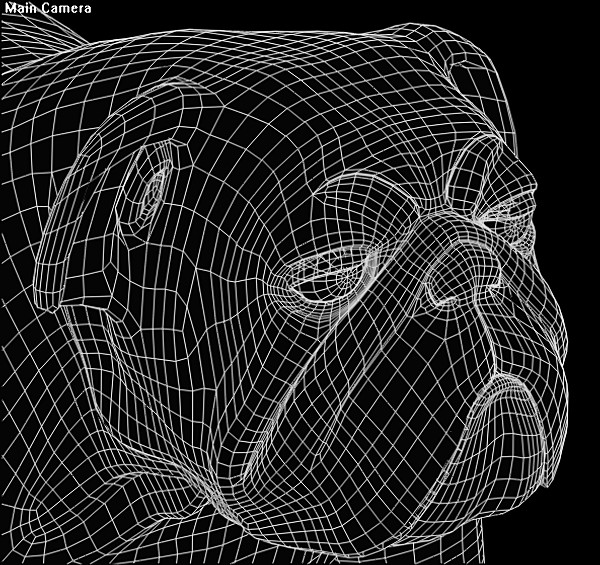 bull bulldog dog 3d model - bulldog.zip... by Rhythm and Hues