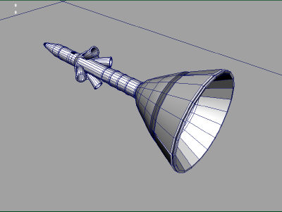 3d model ares 1 rocket - ARES 1 Rocket... by Monkey Wrench
