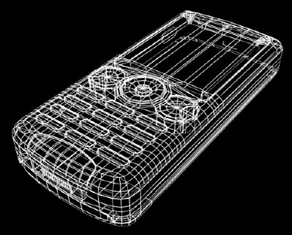 samsung mobile phone 3d model - cell_phone.zip... by etoiles