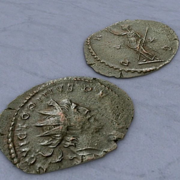 3ds old roman coin ancient