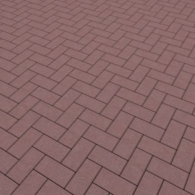 G024 red brick paving texture