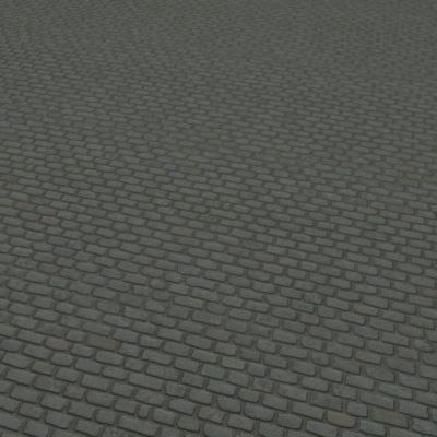 G034 cobblestones Belgian blocks