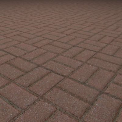 G068 basketweave brick paving texture