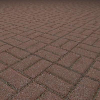 G068 basketweave brick paving texture