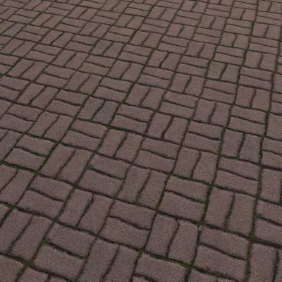 G084 sidewalk brick paving texture