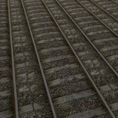 G150 railroad  tracks texture