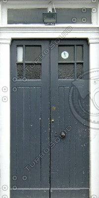 D043 double door texture