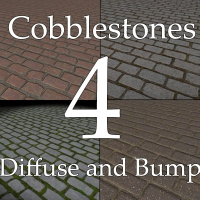 Belgian Blocks Granite Setts Cobblestones texture collection 02