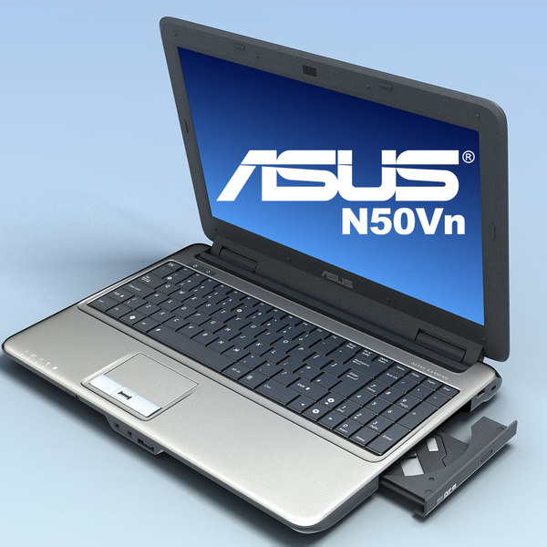 notebook asus n50vn 3d model - Notebook.ASUS N50Vn.MF... by 3DLocker