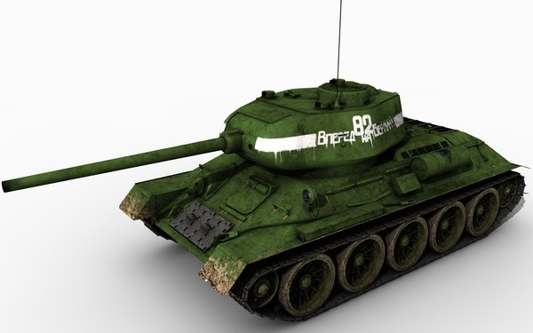 3d t34-85 mograph model - T-34-85 c4d mograph.rar... by DHHH
