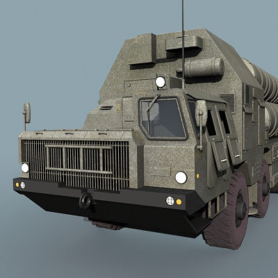 russian grumble sa-20 sam 3d model - SA-10 Grumble/SA-20... by Alex Kontz