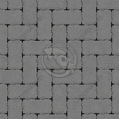 G044 brick paving sidewalk SRF