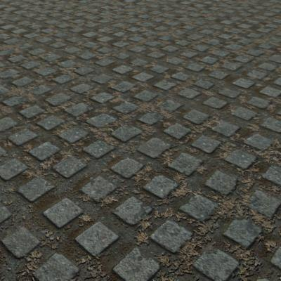 G343 turfstone parking paving